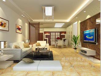 成都家装客厅装修效果-金牛区项目经理