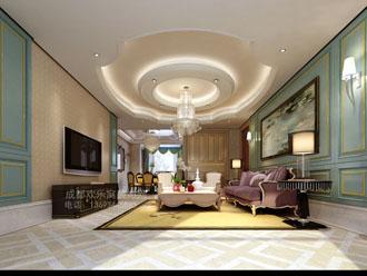 现代风格客厅装修设计师作品