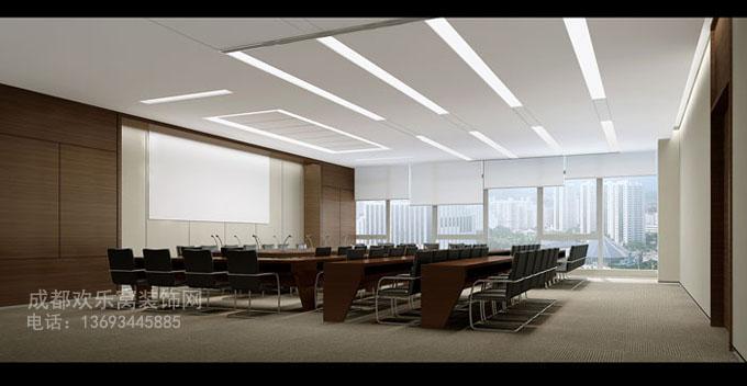 办公室空间设计组成部分有哪些?-参考图