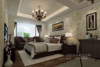 卧室装修效果图-华阳室内设计师作品