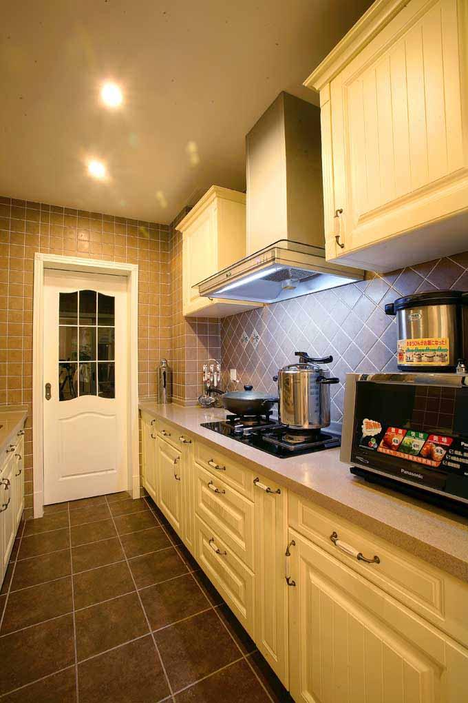 家装案例-厨房设计作品图片