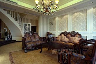 欧式风格客厅装修-卓鼎轩装饰