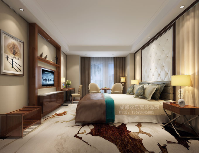 酒店装修工程管理参考图-成都工装公司