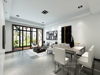 客厅现代风格装饰设计案例图片