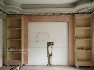 新都区木工高维均施工案例图
