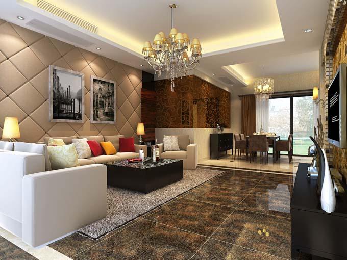 成都现代风格家居装饰公司案例图片