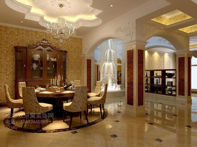 别墅参考装饰设计效果图参考案例-成都别墅装修公司